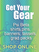 Get your Psi Beta gear!