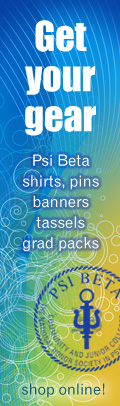 Get you Psi Beta gear!
